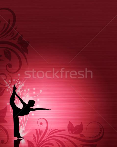 Yoga or ballet Stock photo © IstONE_hun