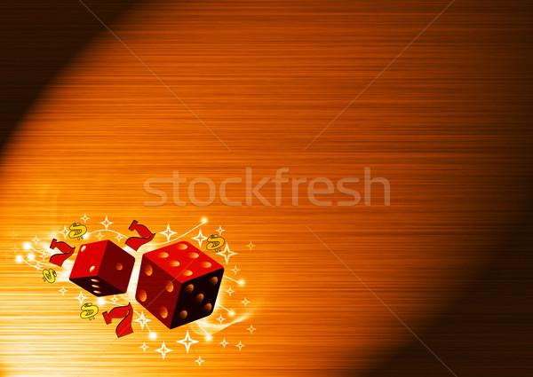 lucky dice Stock photo © IstONE_hun