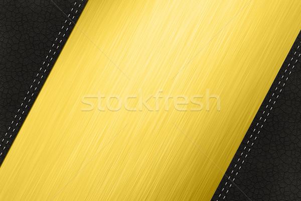 Steel and Leather Stock photo © IstONE_hun
