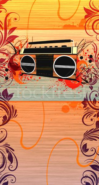 Tape recorder  Stock photo © IstONE_hun