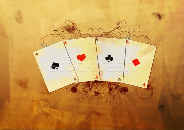 Grunge poker Stock photo © IstONE_hun
