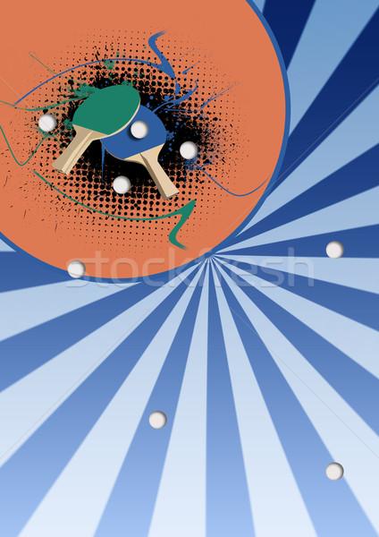 ping pong Stock photo © IstONE_hun