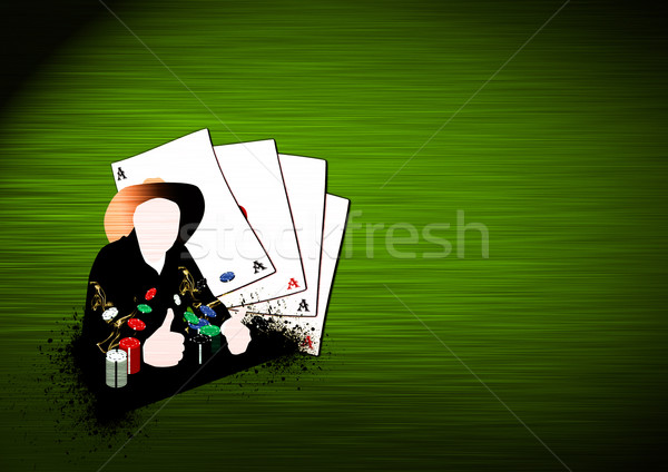 Western poker background  Stock photo © IstONE_hun