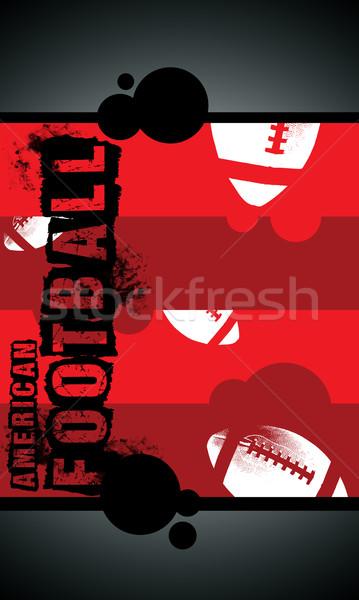 Americano fútbol grunge espacio anunciante web Foto stock © IstONE_hun