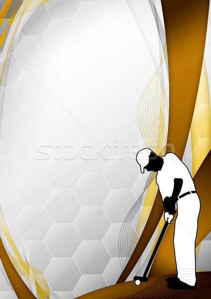 Golf background Stock photo © IstONE_hun