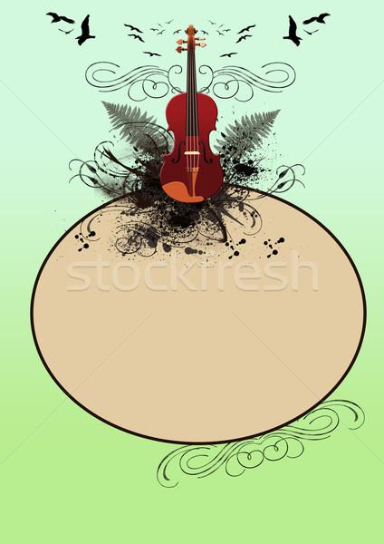Classic music Violin  Stock photo © IstONE_hun