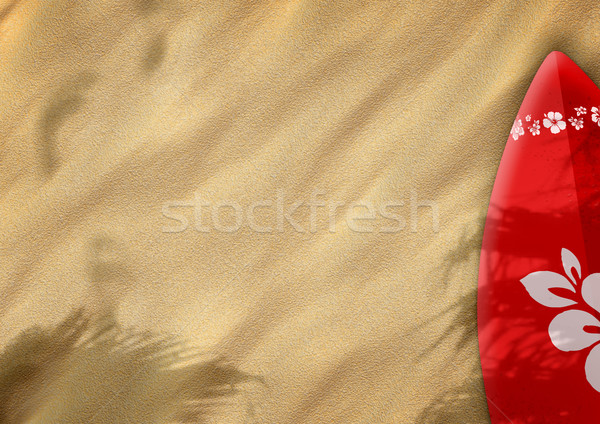 Sable couleur espace plage fleur Photo stock © IstONE_hun