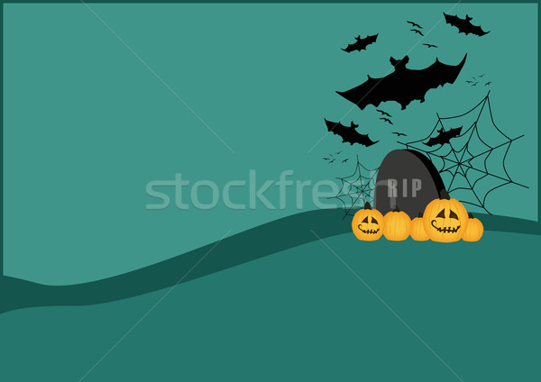 Halloween background Stock photo © IstONE_hun