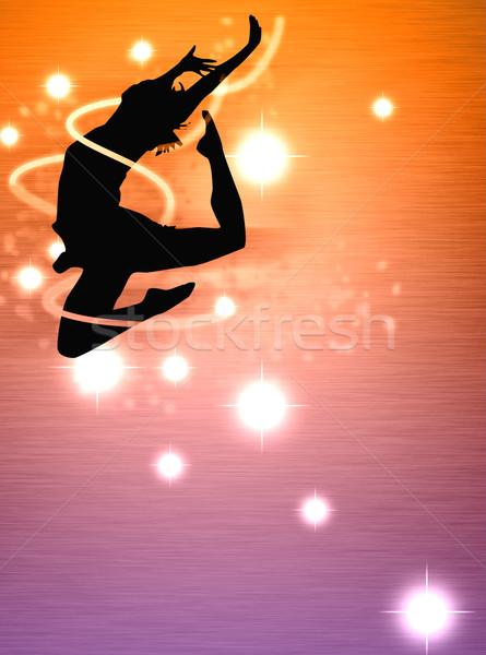 Dance girl  Stock photo © IstONE_hun