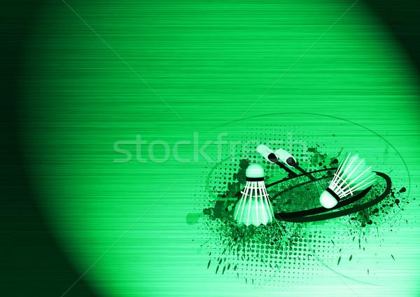 Badminton objects Stock photo © IstONE_hun