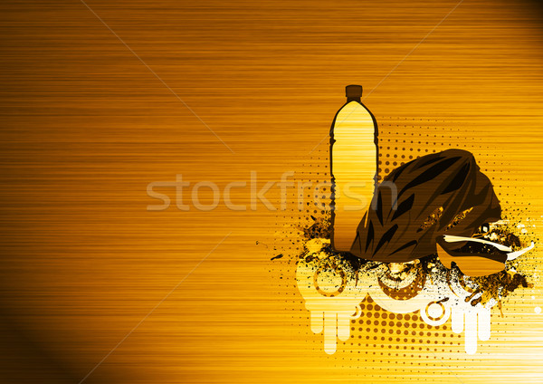 Fiets abstract grunge ruimte sport Stockfoto © IstONE_hun