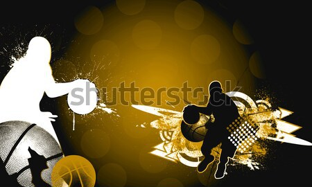 Paintball resumen color grunge espacio fuego Foto stock © IstONE_hun