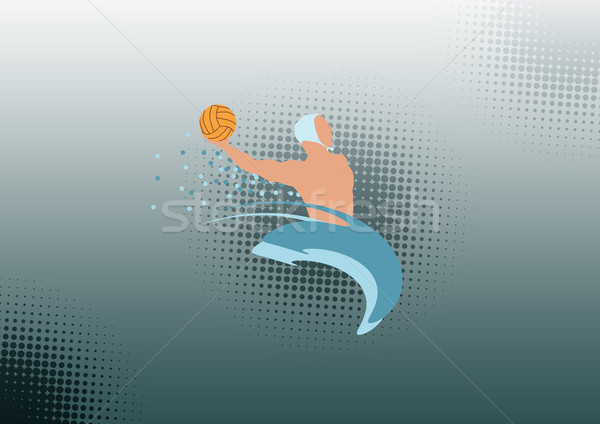 Water polo background  Stock photo © IstONE_hun
