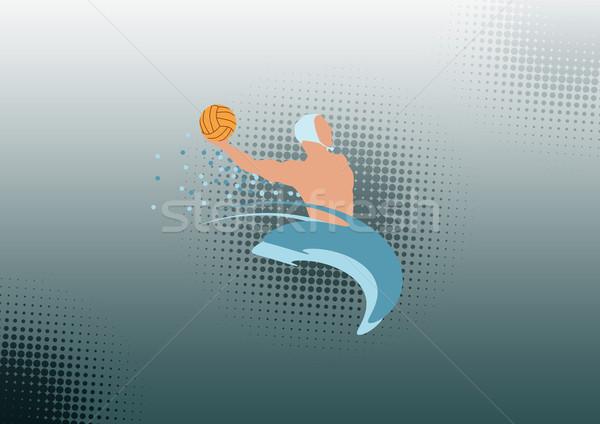 Sutopu renk spor uzay dizayn arka plan Stok fotoğraf © IstONE_hun