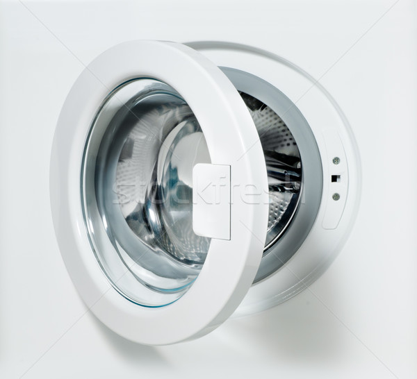 closeup of washing machine door Stock photo © italianestro