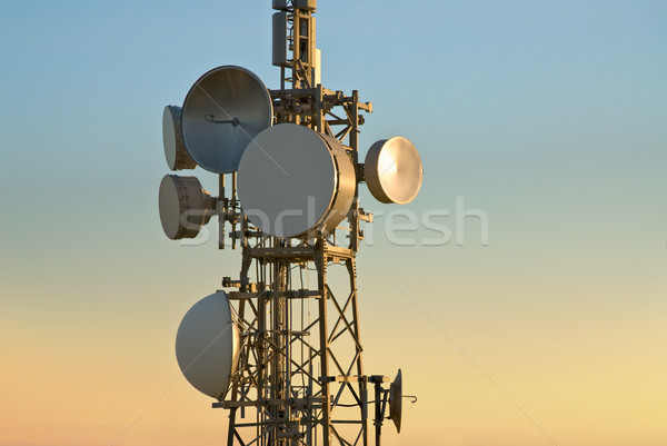 telecommunications tower Stock photo © italianestro