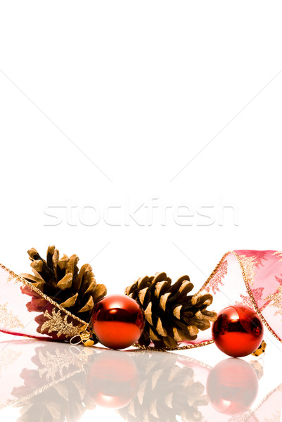 christmas decorations with reflex Stock photo © italianestro