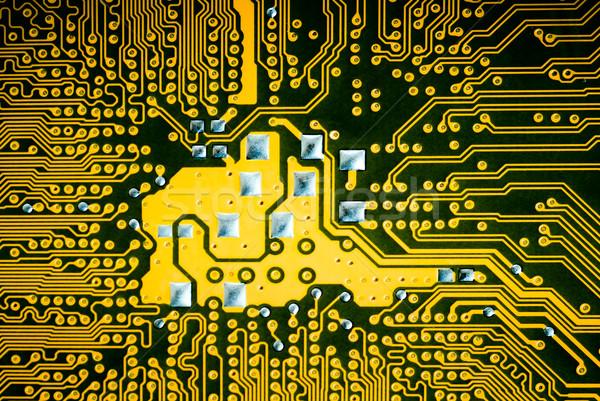 назад сторона карт совета электронных Сток-фото © italianestro