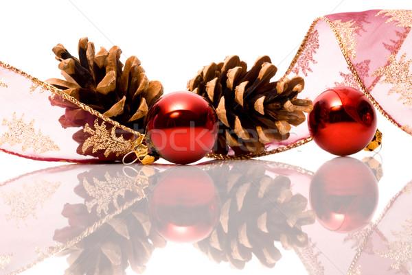 christmas decorations with reflex Stock photo © italianestro