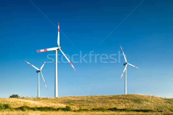 wind turbines landscape Stock photo © italianestro