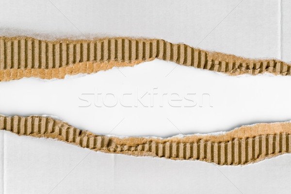 corrugated cardboard Stock photo © italianestro