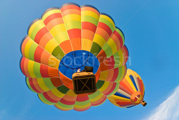 Caldo aria palloncini sotto colorato sport Foto d'archivio © italianestro
