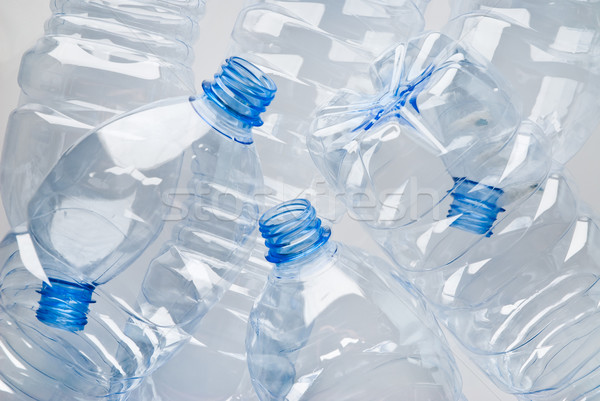 plastic bottles garbage Stock photo © italianestro