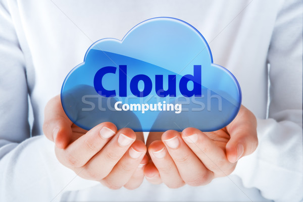 Stockfoto: Handen · symbool · hand · internet · communicatie