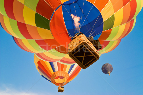 hot air balloon actioning the burner Stock photo © italianestro