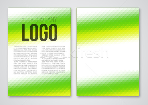 Stock photo: Abstract template