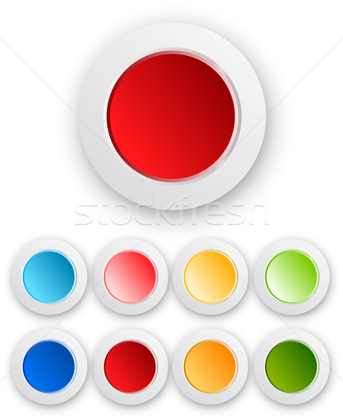 Vector design elements Stock photo © iunewind