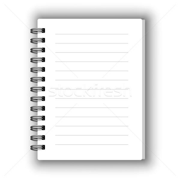 Vector notebook Stock photo © iunewind