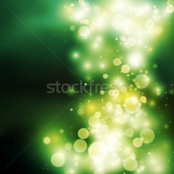 緑 ぼけ味 薄緑 光 ベクトル 自然 ストックフォト © iunewind