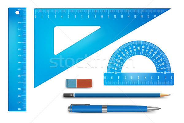 Ruler instruments Stock photo © iunewind