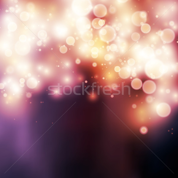Light bokeh light background Stock photo © iunewind