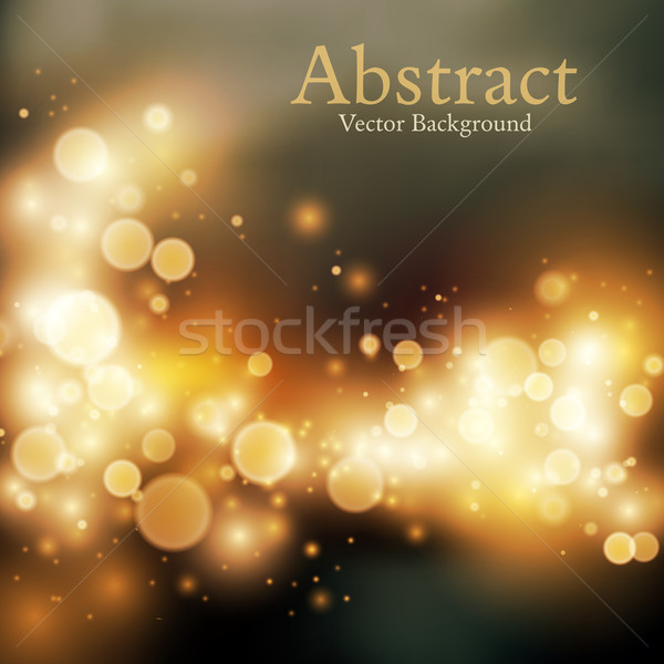 Bokeh vector background Stock photo © iunewind