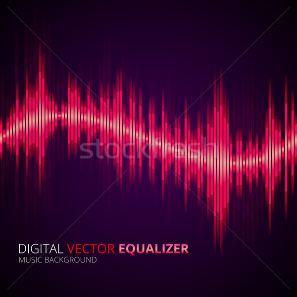 Equalizer yellow Stock photo © iunewind