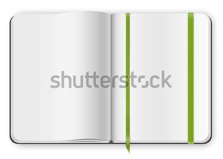copybook template Stock photo © iunewind