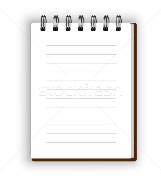 Vertical notebook Stock photo © iunewind
