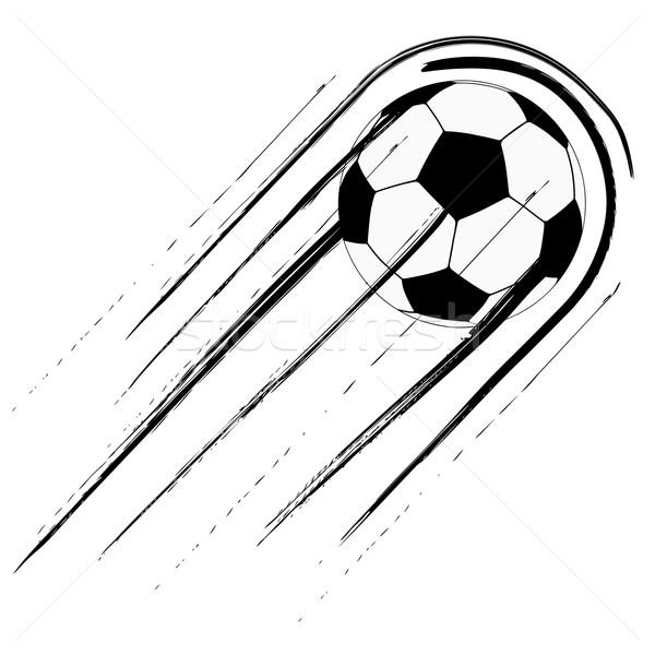 サッカーボール 歩道 長い 速度 後ろ スポーツ ストックフォト © iunewind