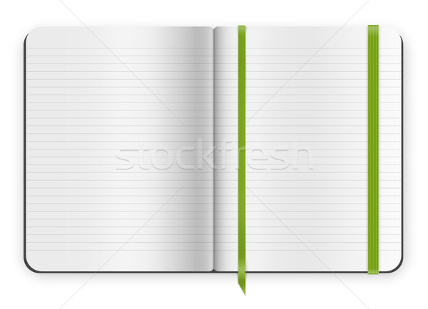 copybook template Stock photo © iunewind