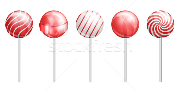 Red candy Stock photo © iunewind