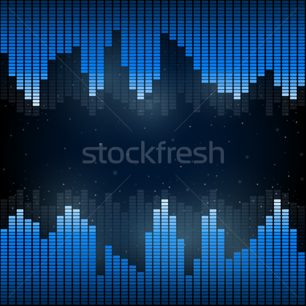 Digital Equalizer Stock photo © iunewind