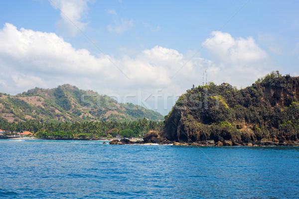 バリ 美しい ビーチ 表示 海 ボート ストックフォト © iunewind