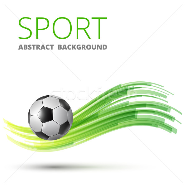 Design with football Stock photo © iunewind