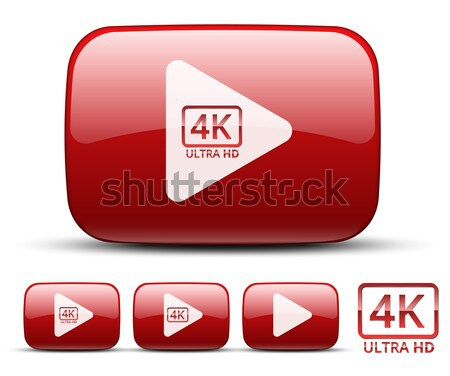 Stock photo: Video icon