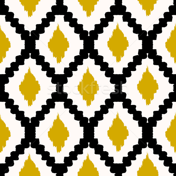 Seamless Tribal Pattern Stock photo © ivaleksa