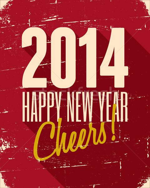 Happy New 2014 Stock photo © ivaleksa
