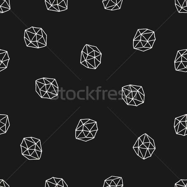 аннотация рисованной бесшовный повторять шаблон Сток-фото © ivaleksa