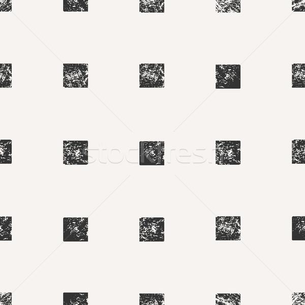 Abstract piazza forme acquerello Foto d'archivio © ivaleksa